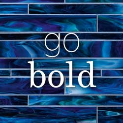 Tile has never been so bold! Stop by our showroom to see our collection of the latest trends!